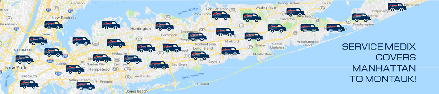 Service Medix Covers Manhattan to Montauk